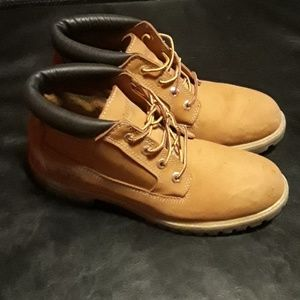 Timberlands brown size 9